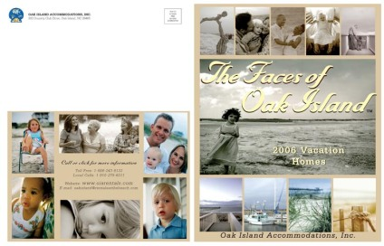 Cover spread for 150 page catalog